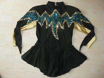 Large Cheerleader Dance Danz Danceline Majorette Uniform Leotard Dress