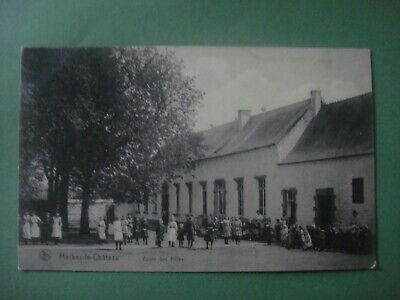 MERBES - LE - CHATEAU -Ecole des Filles (région Thuin -Estinnes -Binche - Lobbes