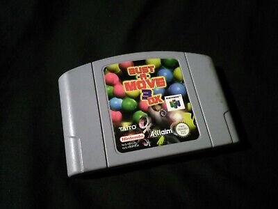 Bust-A-Move 3 DX - Nintendo 64 - N64 - PAL - Cart Only
