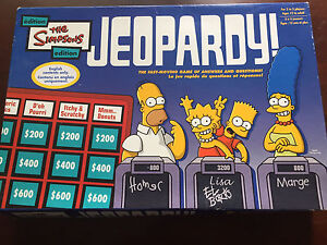 The Simpsons Jeopardy