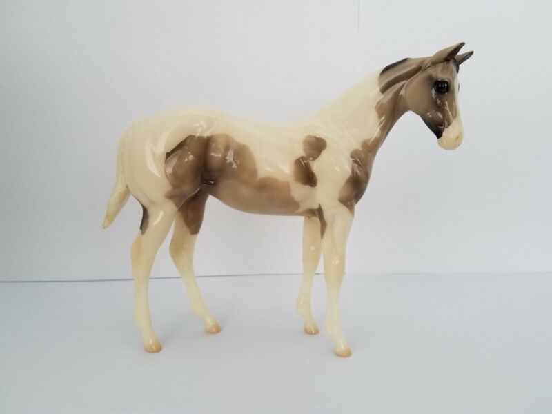 """Peter Stone """"Inna Jiffy"""" Weanling Paint GLOSSY RARE 2002 Special Run"""