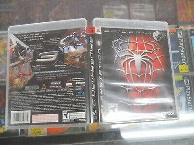 Spider Man 3 (PS3, 2007) Cib