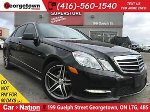 2012 Mercedes-Benz E-Class E350 4MATIC | TAN LEATHER | NAVI | AW