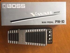 Boss Wah Pedal PW-10 Lalor Park Blacktown Area Preview