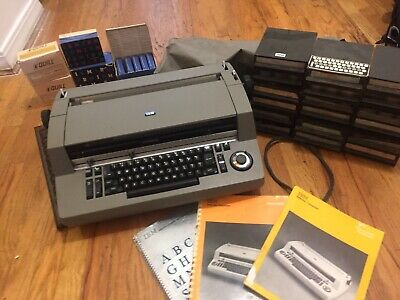 Ibm Selectric Composertypesetter And Fully Working With Near All Font Sets