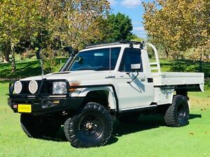 🔥2014 TOYOTA LANDCRUISER VDJ79R MY12 UPDATE GX (4X4) WHITE 5 SPD MANUAL CAB CHASSIS 🔥 Balcatta Stirling Area Preview