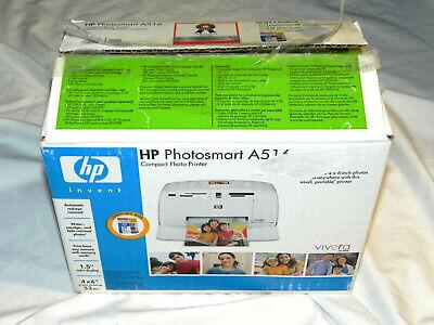 BRAND NEW HP Photosmart A516 Digital Photo Inkjet Printer FREE SHIPPING