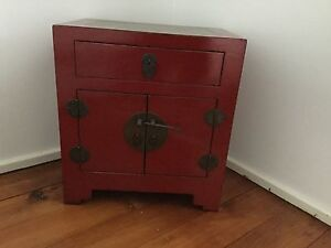 Antique Chinese bedside table Hamilton Newcastle Area Preview