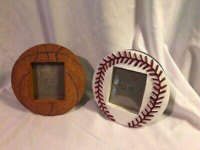 Lot Photo Frames Basketball Softball 3D Holds 2.5x3 Inch Desktop Sports Frame - Sports Photo Frames