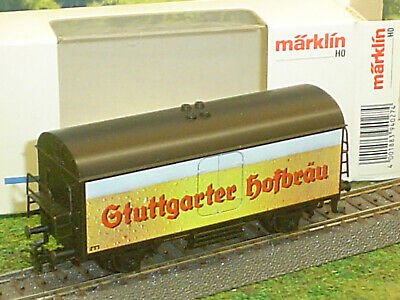 Märklin Bierwagen Stuttgarter Hofbräu Kühlwagen H0 HO Eisenbahn OVP 94027