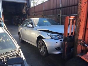 BMW E60 520D SILVER SEDAN MSport 2008 Automatic now wrecking!! Northmead Parramatta Area Preview