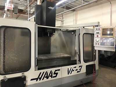 1993 Haas Vf-3 Cnc Vertical Milling Machine W Video Demo