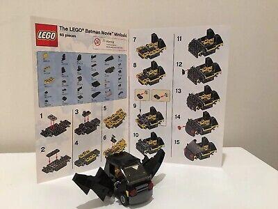 LEGO Batman Movie Mini Build Toys R Us Exclusive Emmet's Bat Car 60 pieces