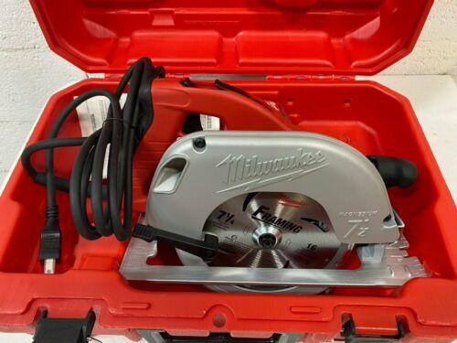 MILWAUKEE 6390-20 Circular Saw, Tilt Lock, 7-1/4 in, NEW w/ CASE