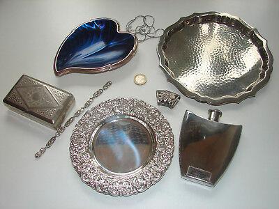 Konvolut alter und antiker Metall- und versilberter Stücke