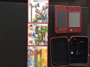 Selling like new Nintendo 3ds xl red