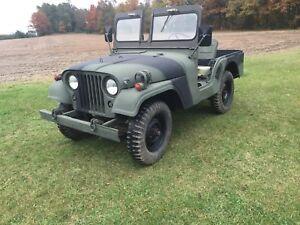 1971 Willys Jeep m38a1