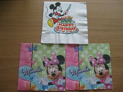 ns Micky & Minnie Mouse (Minnie Mouse Servietten)