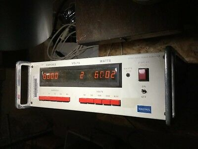 Magtrol 4610 Single Phase Power Analyzer