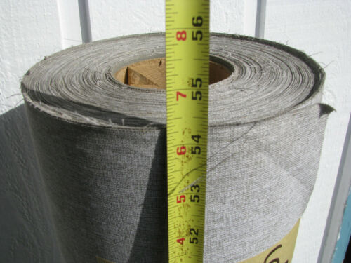 "54"" x 80 yds BUCKRUM BOOKBINDING CLOTH / FABRIC ROLL Light Grey"