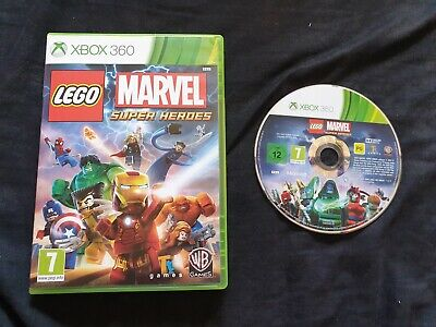 LEGO MARVEL SUPER HEROES Microsoft Xbox 360 Game