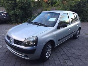 Renault Clio 2003 Automatic 153000kms with RWC Kew Boroondara Area Preview