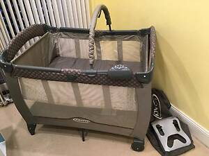 GRACO Portable Travel Cot Leichhardt Leichhardt Area Preview