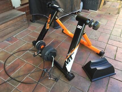 JetBlack M1 Pro Mag Hydro Gel Bike Cycle Trainer