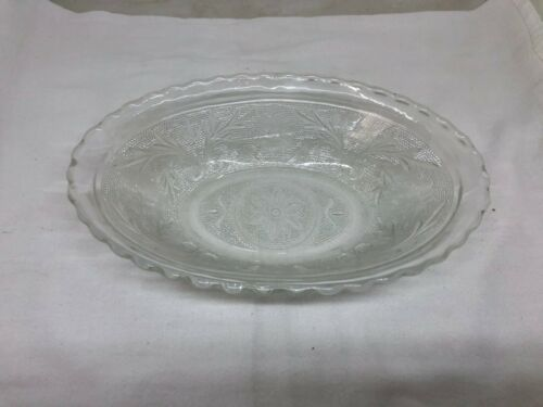 Dessert Dish Bowl Banana Split Clear Tiara Sandwich Glass Dinnerware Dish