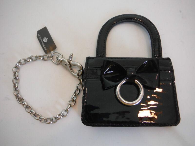 Brighton MY FLAT IN LONDON BOND Black Handbag Purse Backpack CHARM  E14733