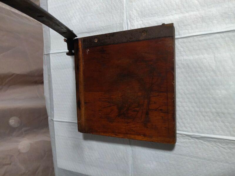 Antique Desktop Paper Cutter. THE DANDY byMilton Bradley