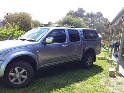 2004 Holden Rodeo Lt Crew Cab P/up