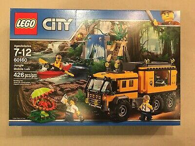 LEGO 60160 - Jungle Mobile Lab - City - NEW SEALED