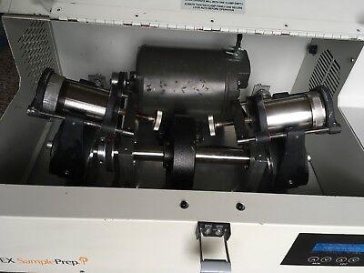Spex 8000d Dual Mixer Mill Grinder Pulverizer Shaker Electronic Timer Jars