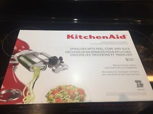 Kitchen Aid Spiralizer attachment - brand new