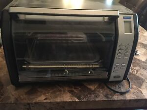 Black and decker rotisserie and oven
