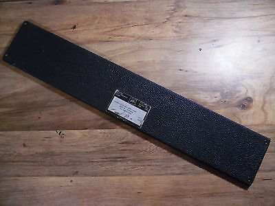 Vintage Peavey Heritage 2 x 12 Amplifier Lower Back Panel * Worldwide Shipping *