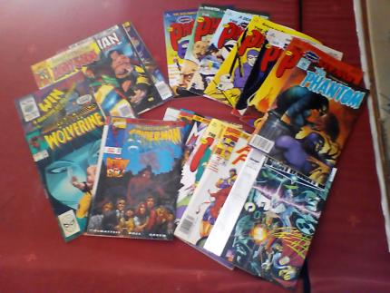 Bulk lot collectable comics