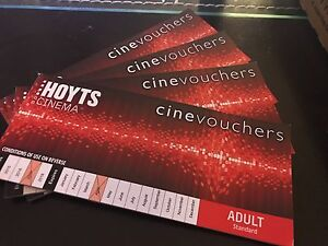 10 x Hoyts adult movie ticket unrestricted Coopers Plains Brisbane South West Preview