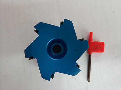 10× APKT1604 R8-FBM22 Al 400R-80-22 Indexable Face milling Cutter + 7//16-20