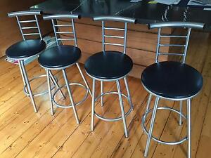 Barstools -- Set of 4 St Kilda West Port Phillip Preview