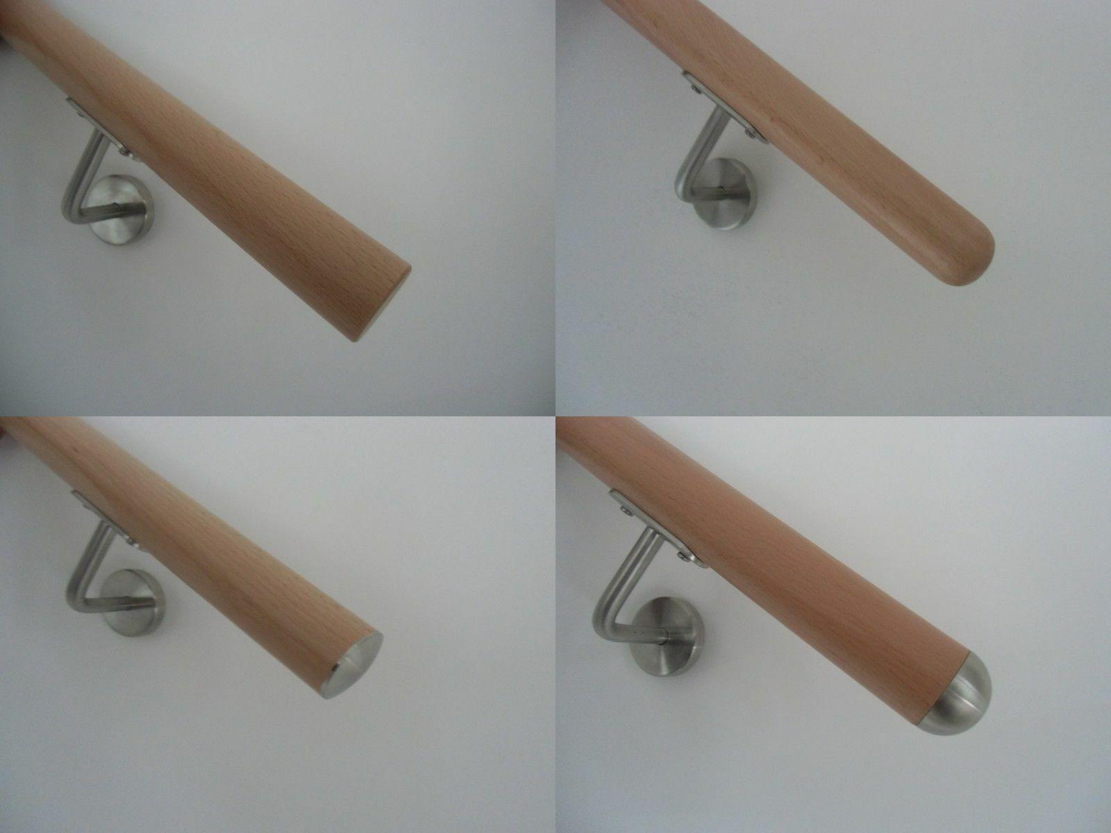Handlauf ohne Halter in verschiedenen L/ängen /Ø42mm 250cm Kiefer
