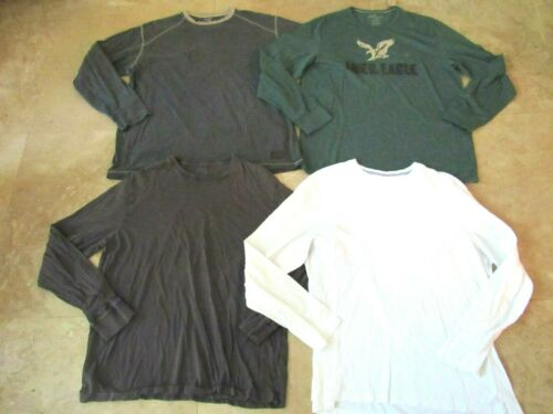 Lot, 4 mens size XL long sleeved t-shirts, Columbia, NEW American Eagle