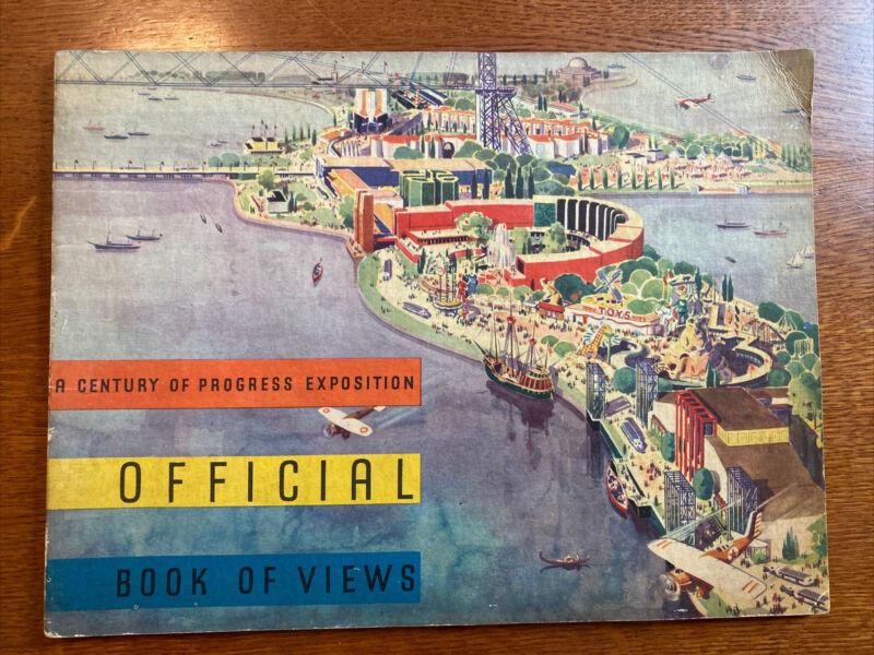 Official Book Of Views 1933 Worlds Fair