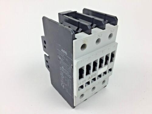 AEG LS37K 3 Pole 220V Contactor 3PH 110A 600V 60HP 24V Coil Motor Starter