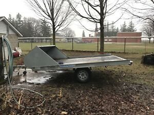 Snowmobile/ATV trailer