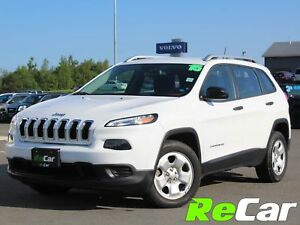 2015 Jeep Cherokee Sport FWD | HEATED SEATS | BACK UP CAM