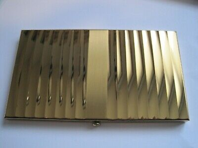 Parker Pen Wadsworth Vintage Cigarette Case Gold Metal Case