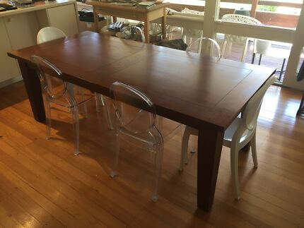 Large Dining Solid Wood Dining Table