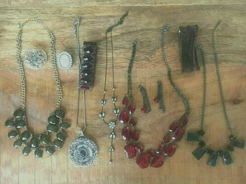 Vintage to Now Jewelry Lot Estate Costume Small Bag - SURPRISE!    NEW PICTURES!